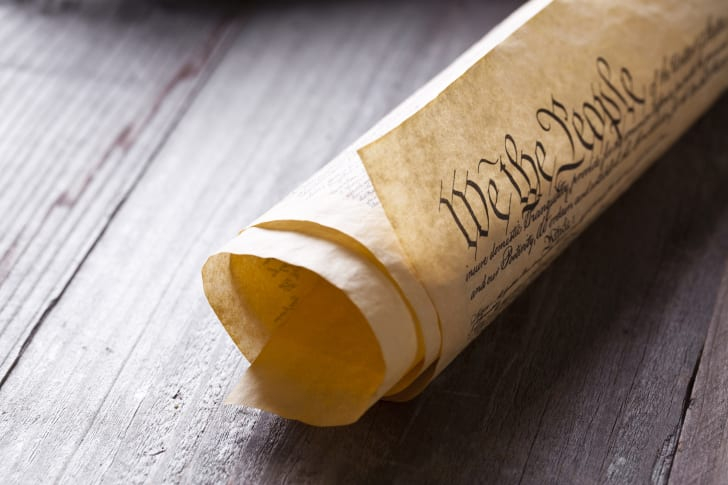 Constitution Scroll
