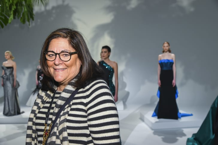 Fern Mallis attends a New York Fashion Week event in 2017.