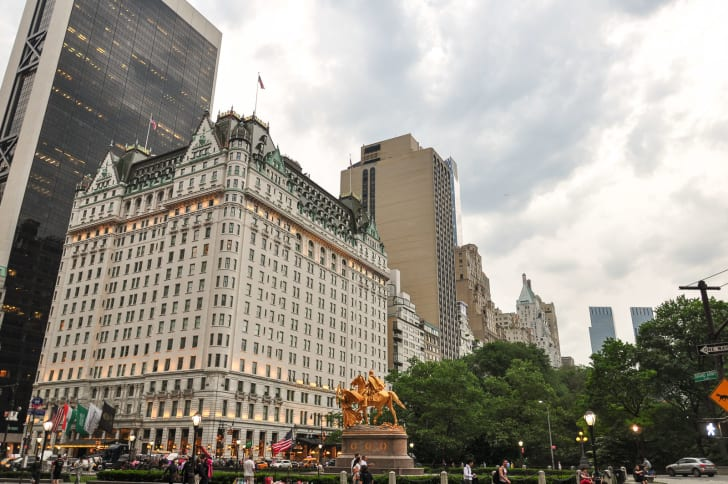 New York's Plaza Hotel.