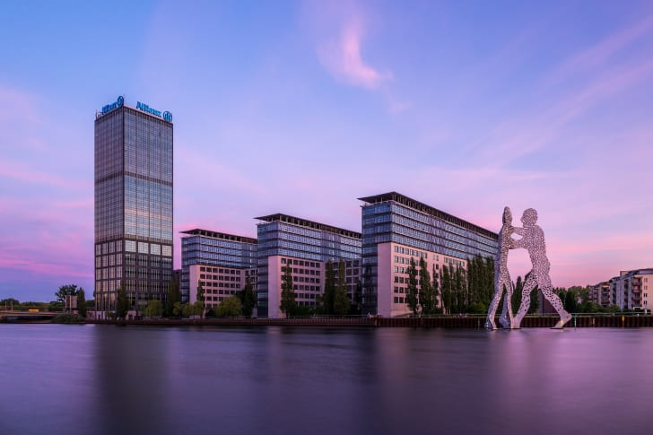 The Treptowers in the district of Alt-Treptow, Berlin