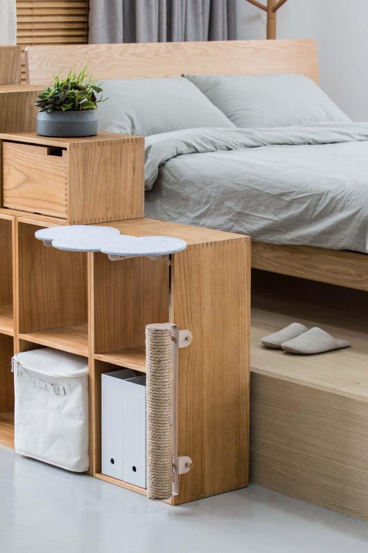 Cat furniture.