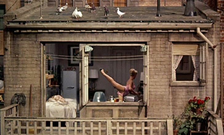 Georgine Darcy in 'Rear Window' (1954)