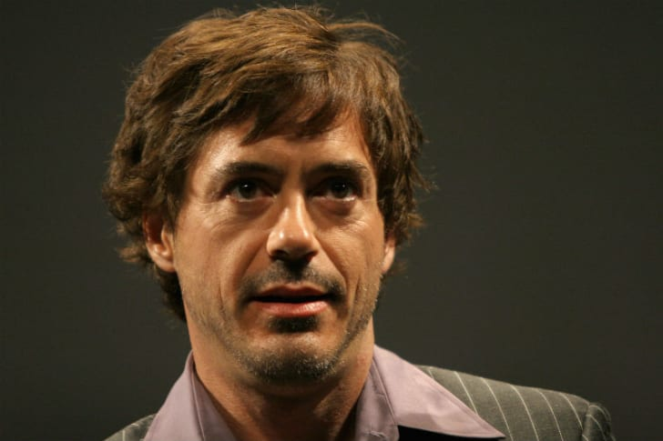 Robert Downey Junior is photographed at a public appearance