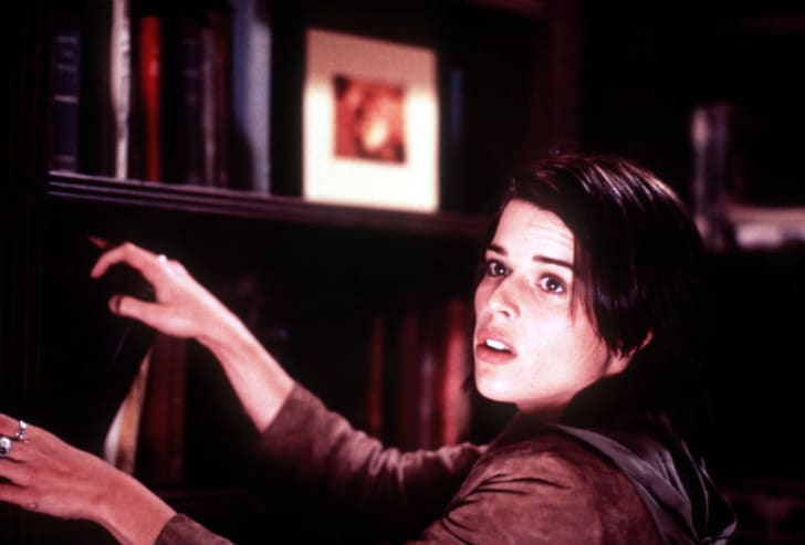 Neve Campbell appears in a publicity shot for 'Scream'