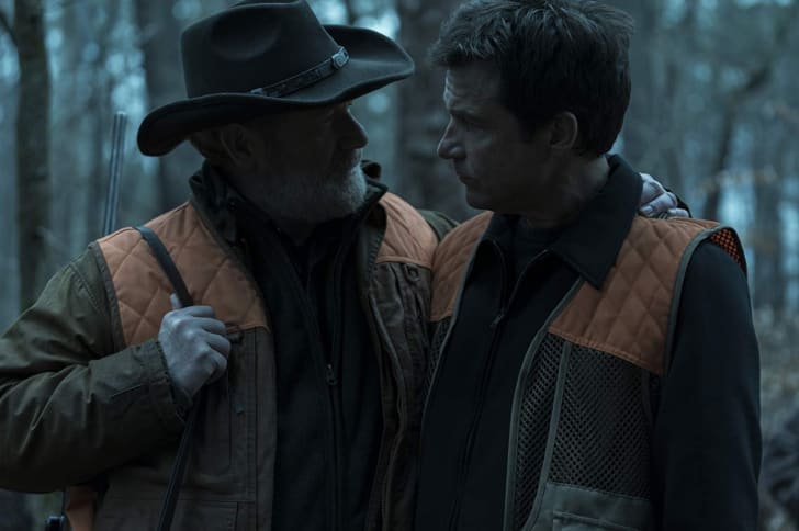 Peter Mullan and Jason Bateman in 'Ozark'