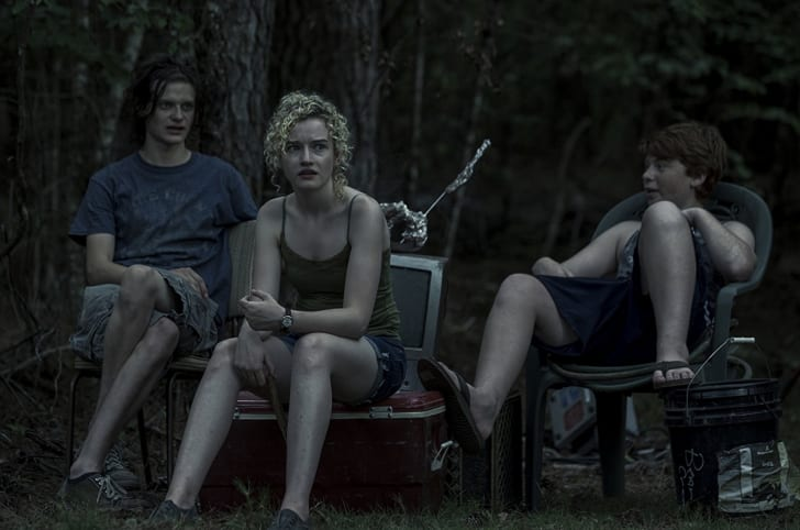 Charlie Tahan, Julia Garner, and Carson Holmes in 'Ozark'