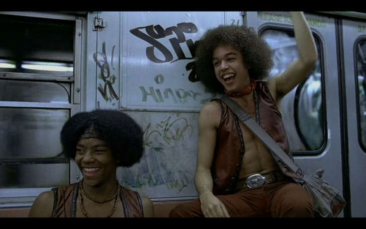 A scene from Walter Hill's 'The Warriors' (1979)