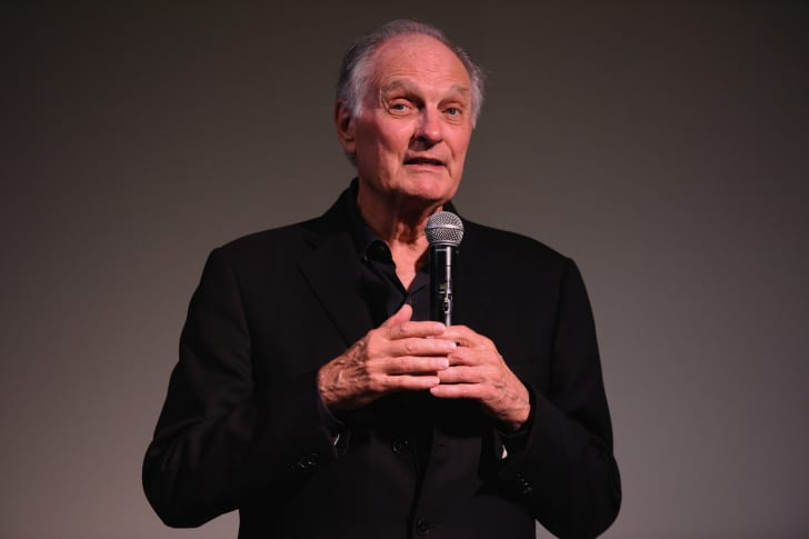 Actor Alan Alda speaks during 'Bridge Of Spies' Q&A on Day 5 of the 23rd Annual Hamptons International Film Festival on October 12, 2015 in East Hampton, New York