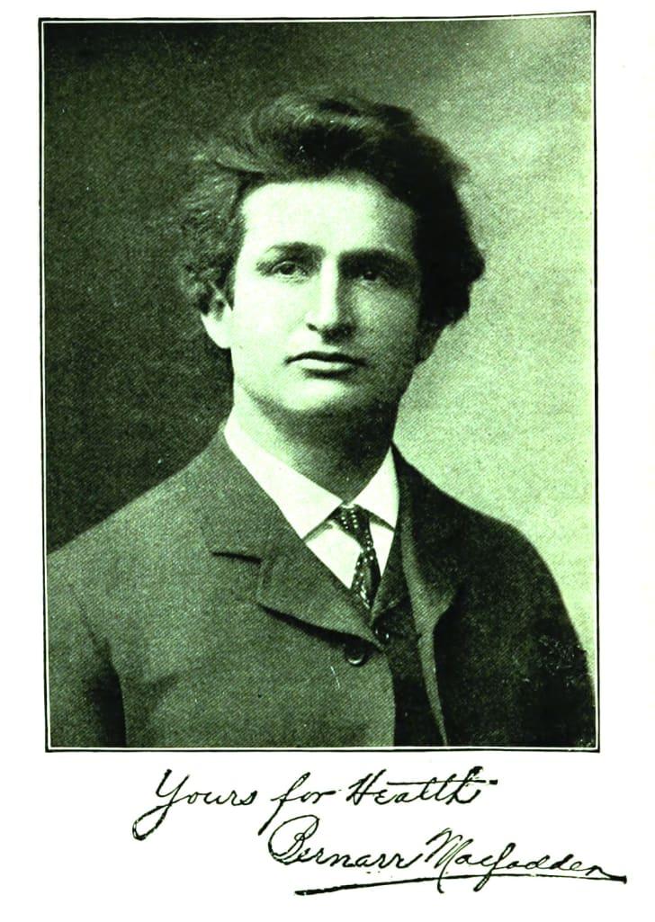 A portrait of Bernarr Macfadden