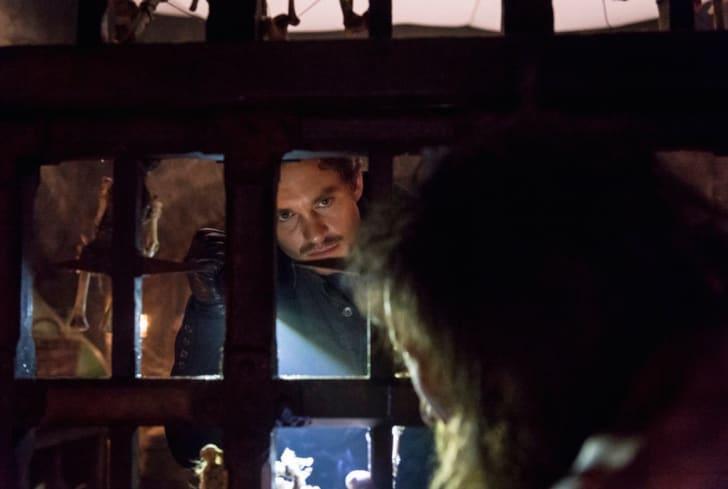 Hugh Dancy and Julian Richings in 'Hannibal'