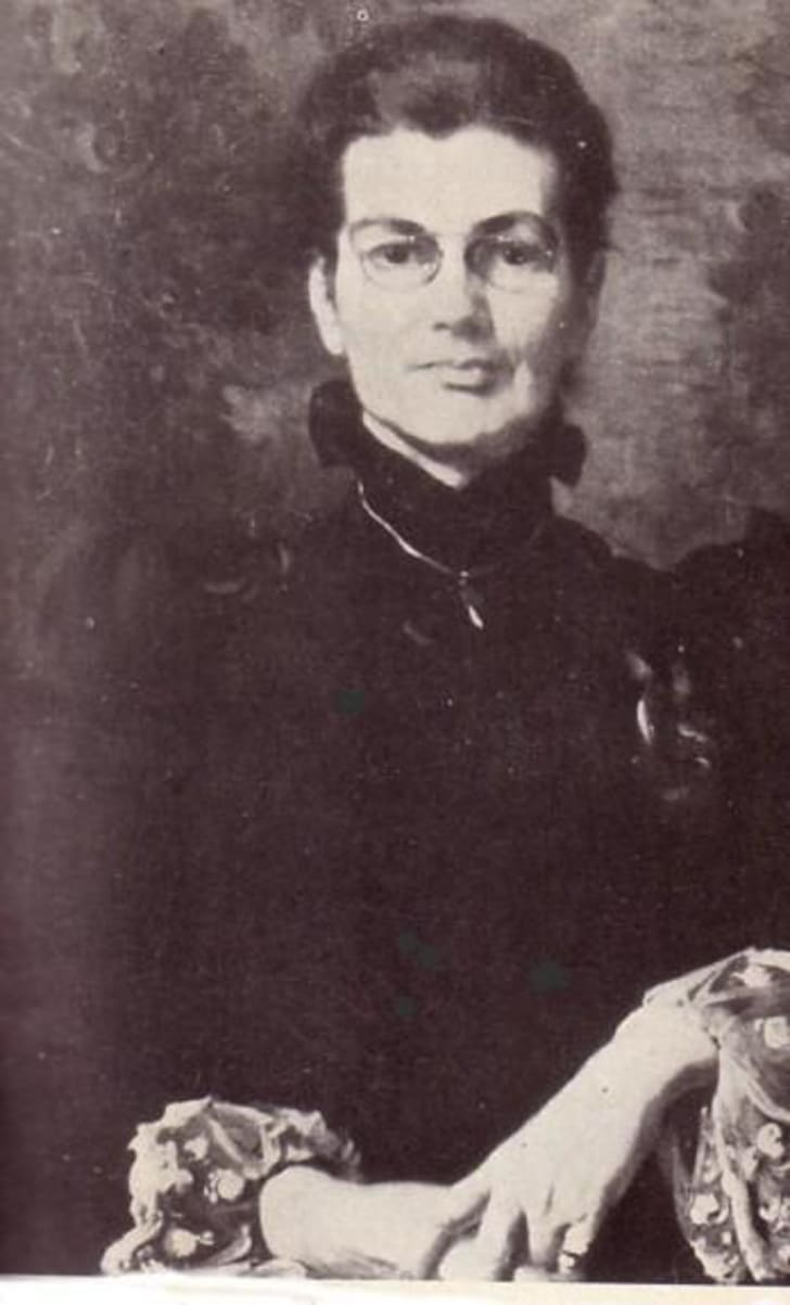A portrait of Charlotte Anne Moberly