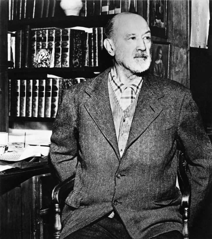 Photo of Charles Ives.