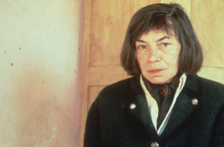 American novelist Patricia Highsmith, the author of 'The Talented Mr Ripley' and 'Strangers On A Train'