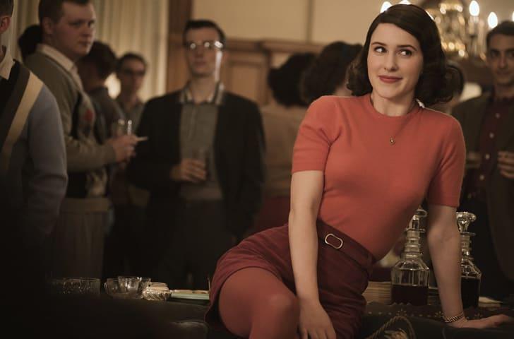 Rachel Brosnahan in 'The Marvelous Mrs. Maisel'
