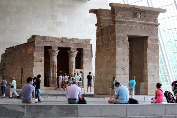 Temple of Dendur, Metropolitan Museum of Art, New York City