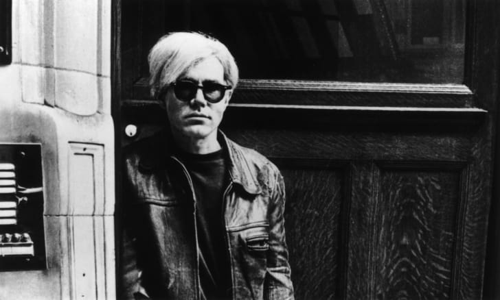 Pop artist and film-maker Andy Warhol (1928 - 1987