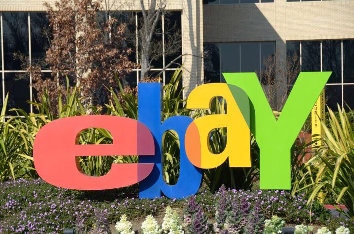 ebay sign outside office