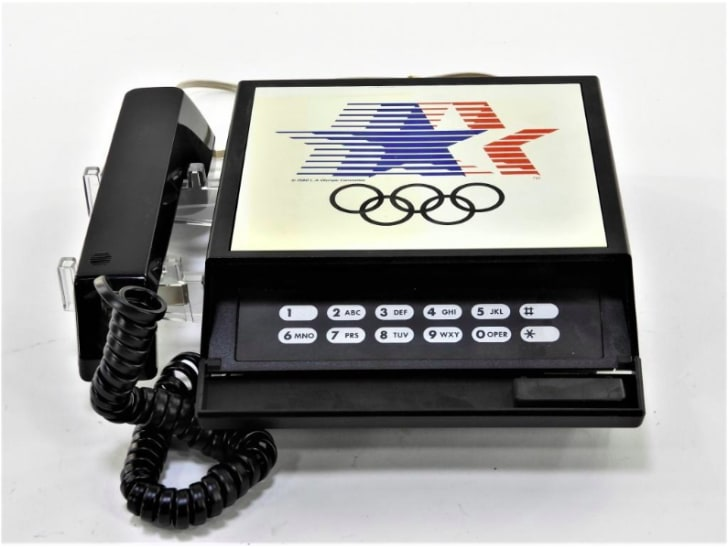 AT&T official telephone of the 1984 Los Angeles Summer Olympics.