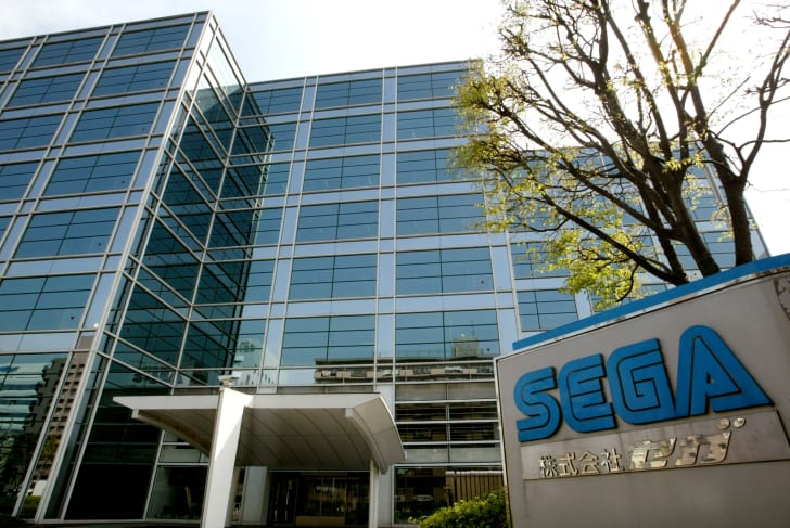 The Sega Corp. headquarters
