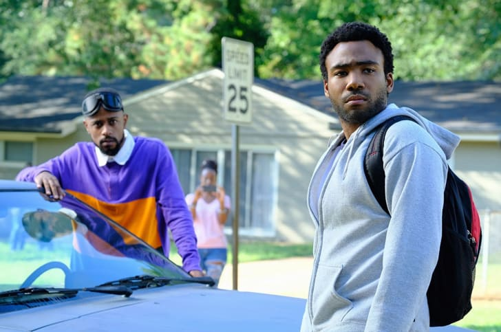 Donald Glover and Lakeith Stanfield in 'Atlanta'