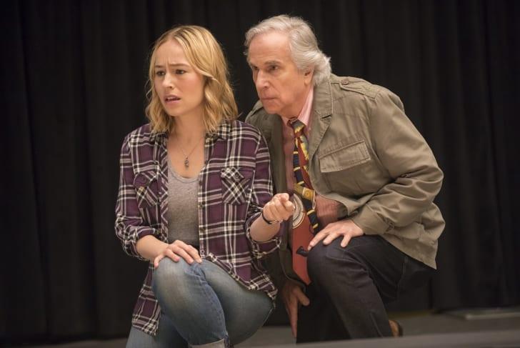 Sarah Goldberg and Henry Winkler in 'Barry'
