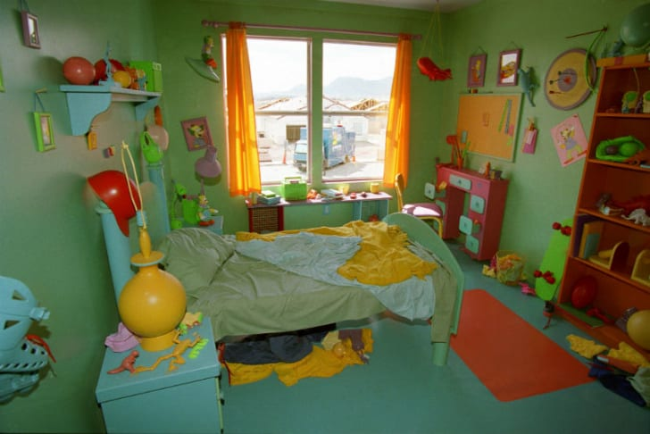 A look inside Bart Simpson's bedroom
