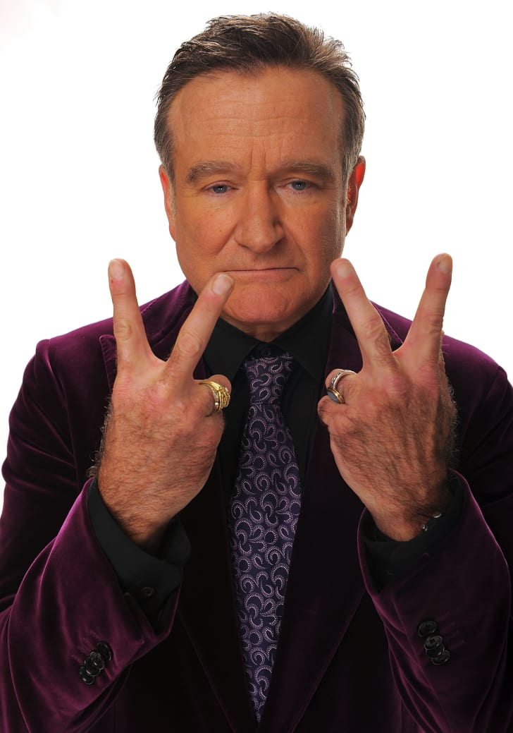 Actor Robin Williams poses for a portrait during the 35th Annual People's Choice Awards held at the Shrine Auditorium on January 7, 2009 in Los Angeles, California