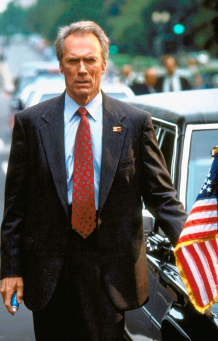 Clint Eastwood in 'In the Line of Fire' (1993)