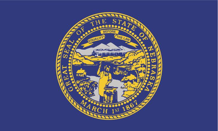 Nebraska state flag