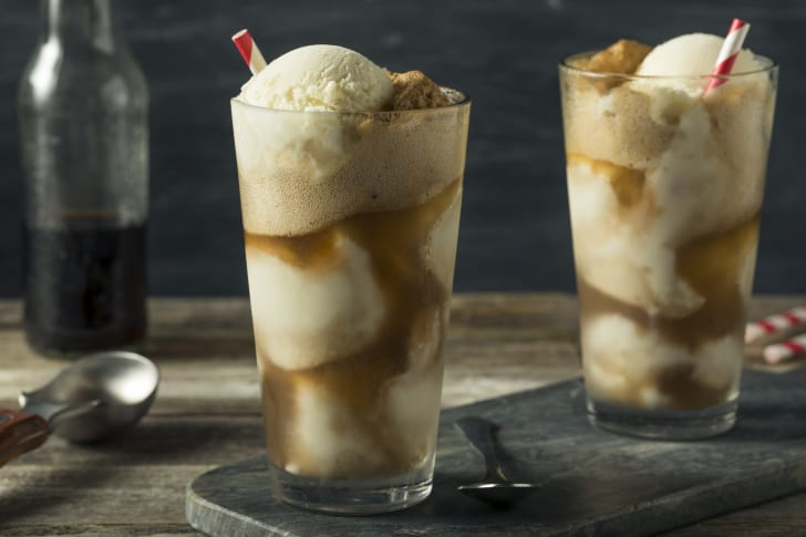 Image of root beer floats