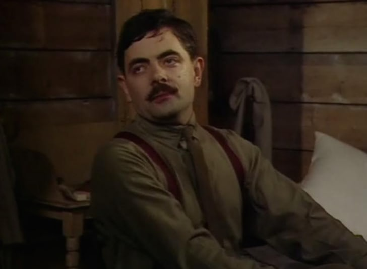 Rowan Atkinson in 'Blackadder Goes Forth'