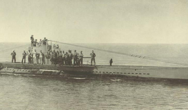 German U-boat U38, World War I