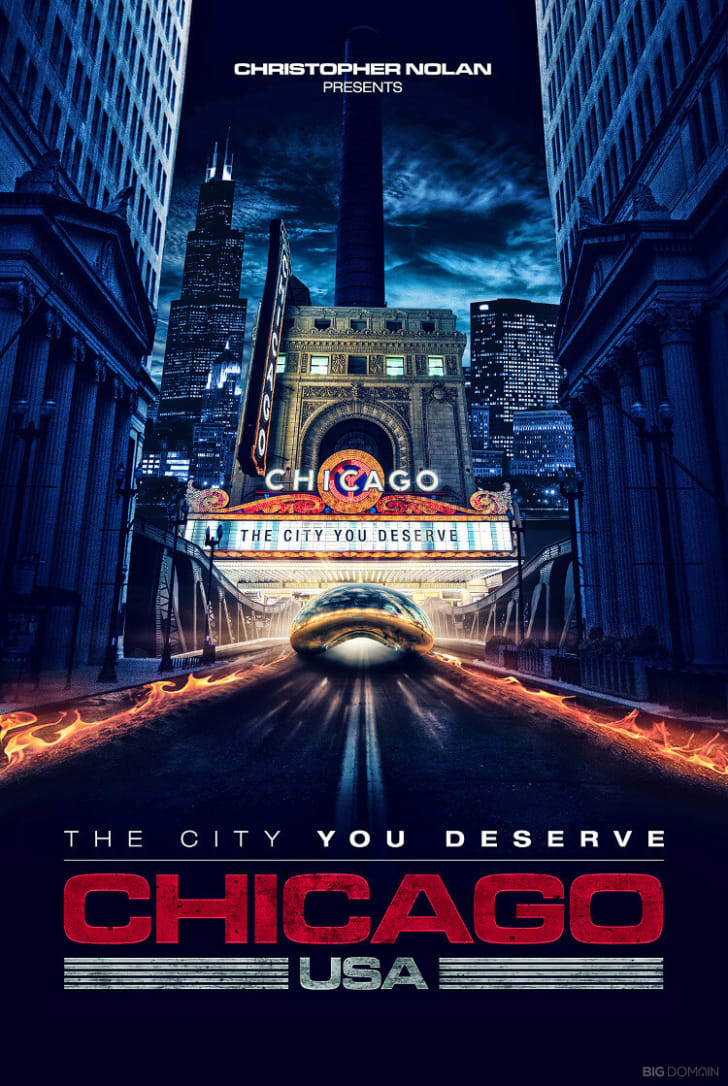 A poster of Chicago
