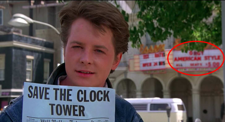 A screen shot from 'Back to the Future' (1985)