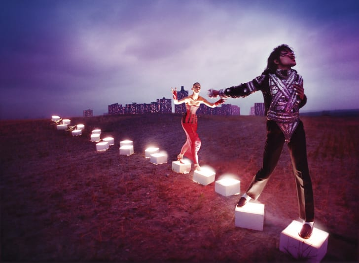 An artwork inspired by Michael Jackson