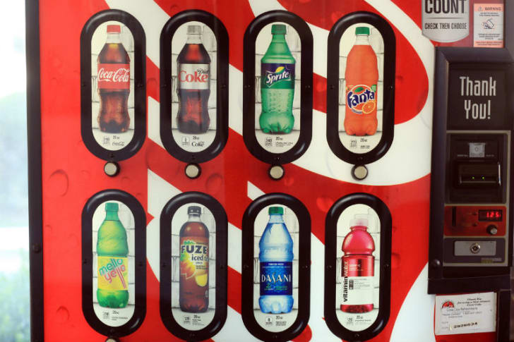 A vending machine that offers a variety of options