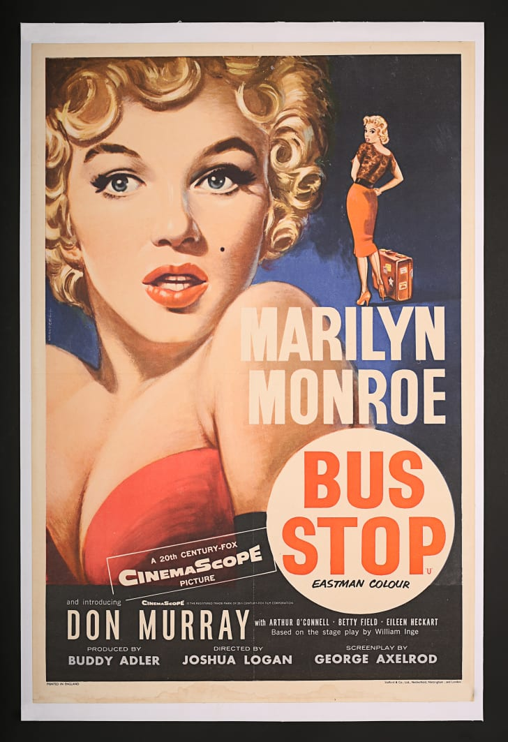 A poster from the film Bus Stop