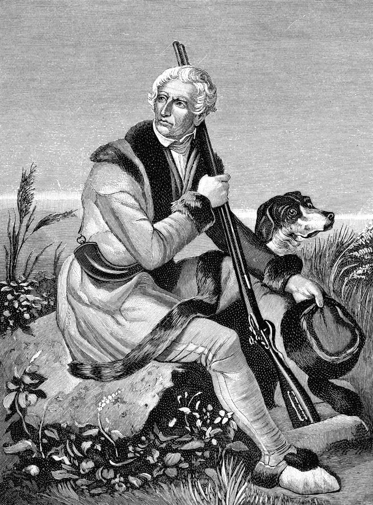 Daniel Boone hunting