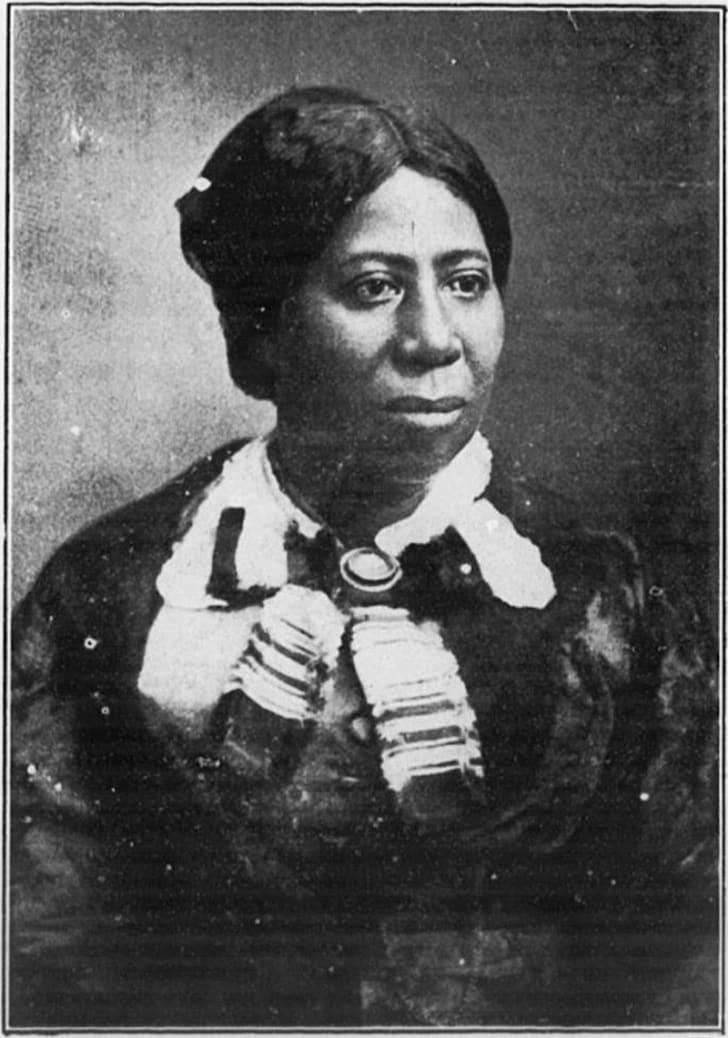 Portrait of Anna Murray Douglass, Frederick Douglass's first wife.