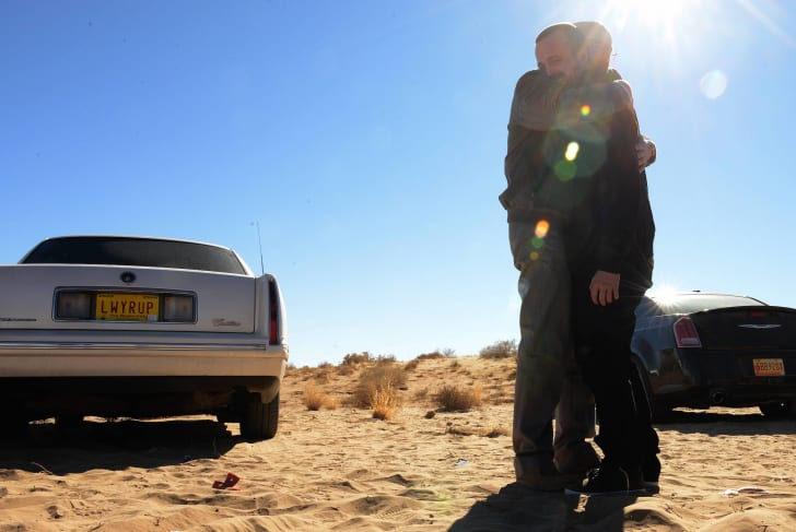 Bryan Cranston and Aaron Paul in 'Breaking Bad'