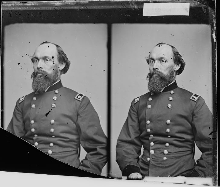 Photograph portrait of Civil War General Gordon Granger