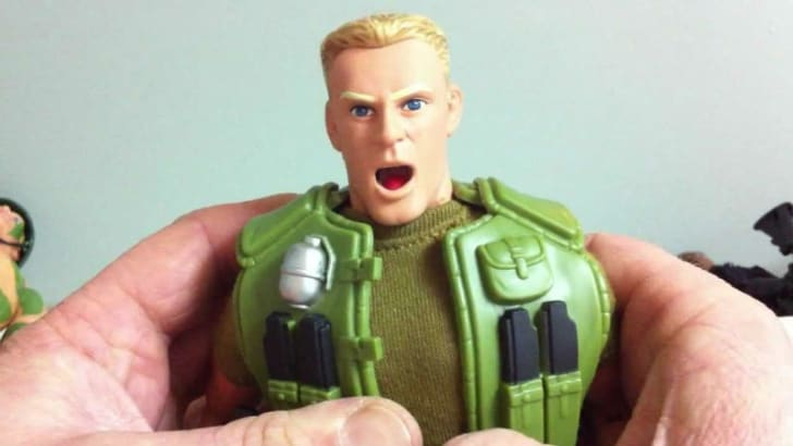 A screenshot of a G.I. Joe Talking Duke figure