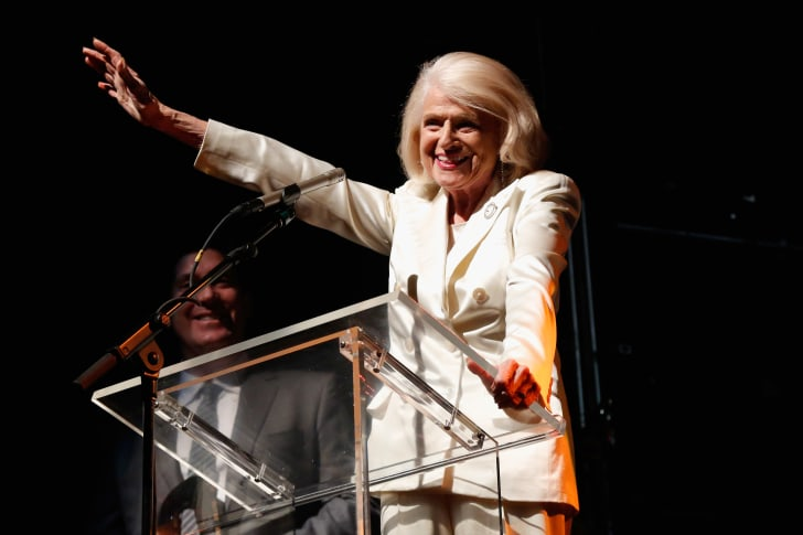 Edie Windsor speaking at an event in 2013.
