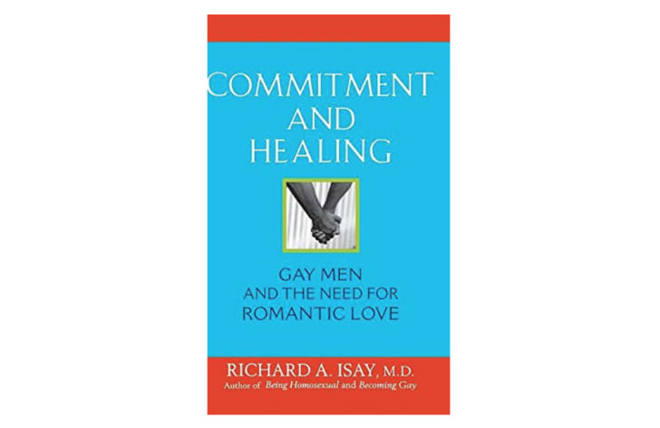 Cover of a Dr. Richard Isay book