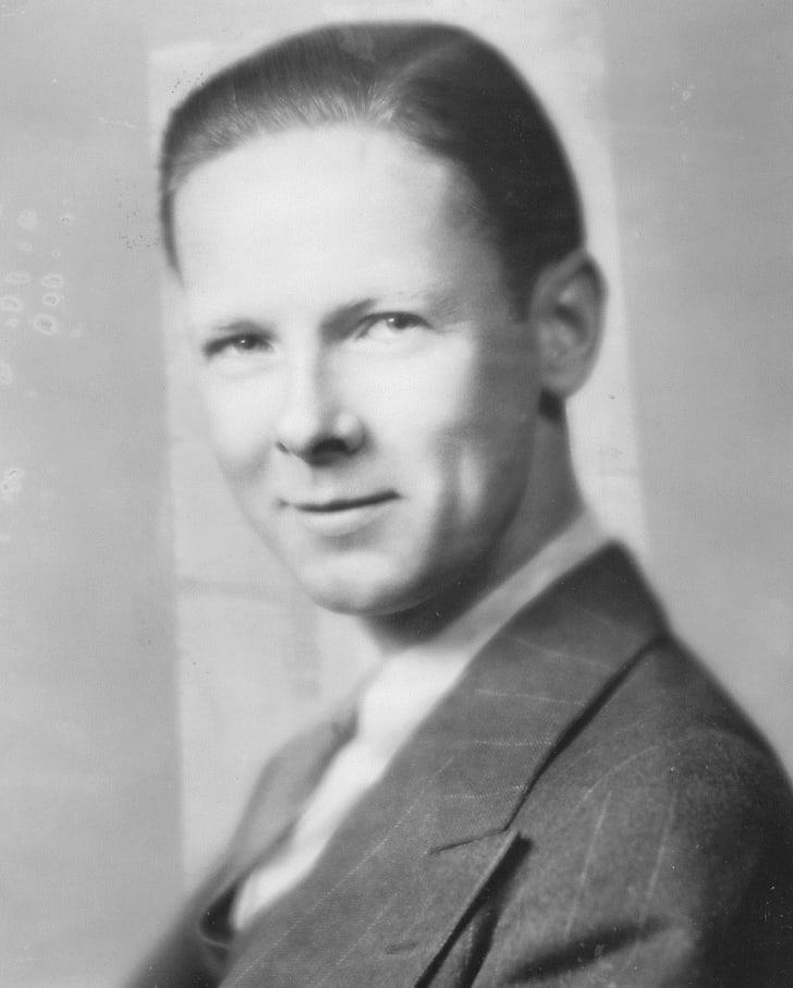 """A portrait of William """"Skeets"""" Miller."""