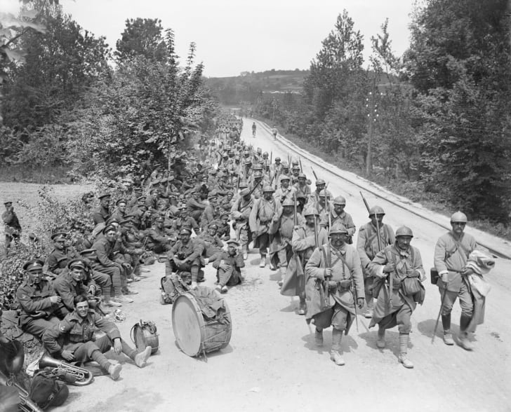 German spring offensive, World War I, 1918