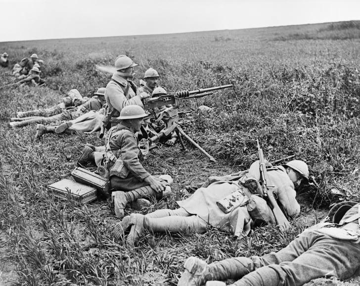 The German spring offensive, 1918, World War I