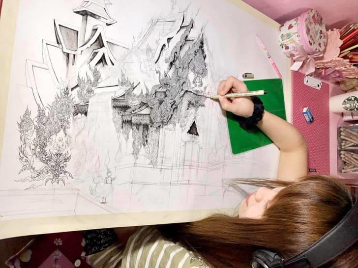 Emi Nakajima drawing