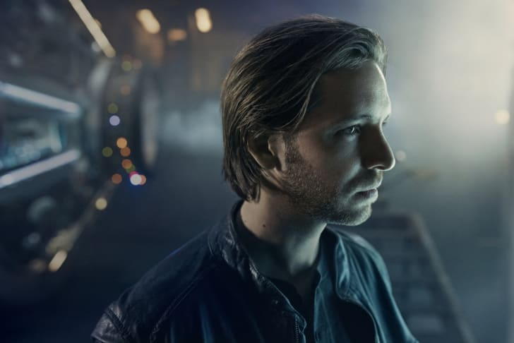 Aaron Stanford as James Cole in '12 Monkeys.'