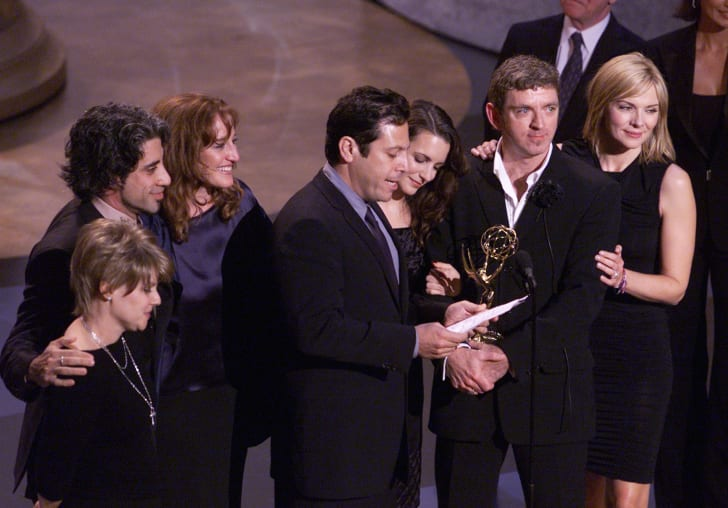 Winner for Outstanding Comedy Series, 'Sex in the City' at the 53rd Annual Prime-Time Emmy Awards held at the Shubert Theatre, Los Angeles, CA., Nov. 4, 2001